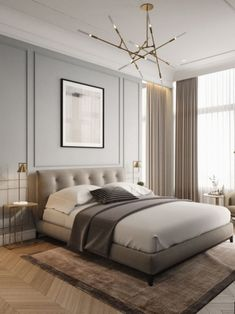 Moscow aleea 3ddd. En Modern Bedroom Decor, Master Bedroom Design, Bedroom Ideas, Trendy Bedroom, Master Suite, Bedroom Inspo, Bedroom Designs, Diy Bedroom, Bedroom Rustic