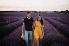 Preboda en campos de lavanda – Paula y Raúl