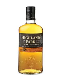 Highland Park 12 Years Old Single Malt Scotch (TOTALLY SUPER DRINKING SCOTCH - SWEET AND SPICY. A LONG FINISH). The Highland Park 15 years also EXCELLENT