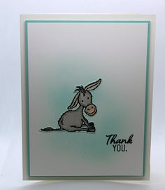 Funny Cards, Cute Cards, Thank U Cards, Hand Stamped Cards, Stamping Up Cards, Scrapbook Cards, Scrapbooking, Animal Cards, Cards For Friends