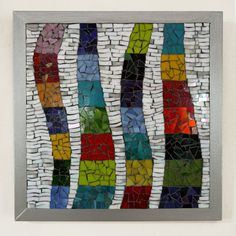 Baile de colores: Mosaico de foto arte en vitral por Sigalitarts