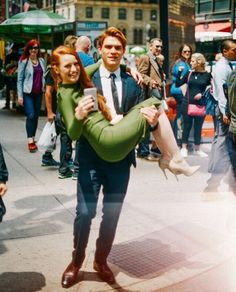 KJ Apa and Madeleine Petsch.