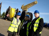 Professor Graham Henderson, Vice-Chancellor visits Wellstream International    A double KTP graded between Teesside University and Wellstream International graded outstanding by the Technology Strategy Board