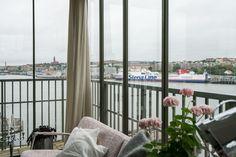 An Elegant Swedish Apartment Surrounded by Sea – The Design Stash Balcony, Sea, Elegant, Design, Home Decor, Classy, Chic, Decoration Home, Room Decor