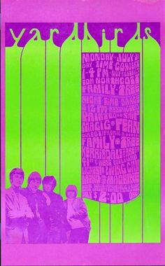 ☯☮ॐ American Hippie Psychedelic Art Classic Rock Music ~ Yardbirds