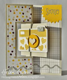 The Dining Room Drawers: The Stamps of Life Januray Club Set - Camera2stamp & Stampin Up Card
