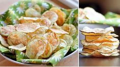 Umm yes i love chips! How to Make Potato Chips in the Microwave New Recipes, Snack Recipes, Cooking Recipes, Favorite Recipes, Healthy Recipes, Snacks, Healthy Potatoes, Crispy Potatoes, Sliced Potatoes