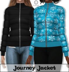 Clothing: Journey Jacket from LumySims • Sims 4 Downloads