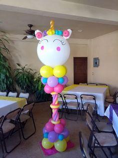 Unicorn Birthday Parties, Unicorn Party, Birthday Balloons, Balloon Pillars, Balloon Arch, Balloon Decorations, Birthday Decorations, Unicorn Balloon, Little Pony Party