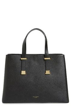 Ted Baker London Ted Baker London Alissaa Leather Tote available at #Nordstrom