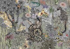 Textile Designer: Victoria Garcia  http://patternobserver.com/2011/12/15/textile-designer-victoria-garcia/