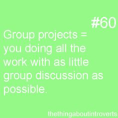 In college, do professors assign group projects, as teachers often do in high school?