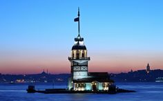 Maiden Tower in Istanbul, extremely perfect