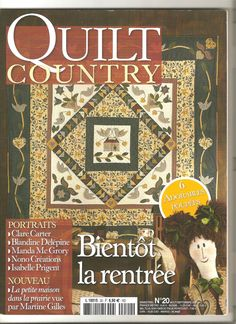 * Magazine quilt Country n °20