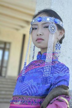 Wall | VK  - Tuvan girl.