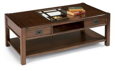 "Sonoma  Rectangular Cocktail Table    Model 6625-031  18""H x 50""W x 26""D"
