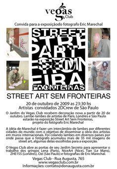 Dançar e contemplar arte de rua indoor em um club de São Paulo é a proposta de Eric Marechal, fotógrafo que acumulou mais de 35 mil imagens de street art e que, a partir do dia 20 de outubro, expõe…