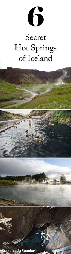 If Iceland is on your bucket list, don't miss soaking in a hot spring when you go. Six lesser-known hot springs in Iceland for you to luxuriate in on your next adventure, coordinates included!