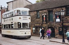 Sheffield tramcar (Sheffield's last tram to be withdrawn in Bonde, Bus Coach, Old Tractors, Light Rail, Public Transport, Sheffield, Coaches, Buses, Black History