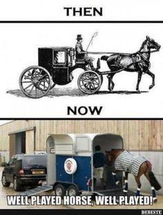 Früher und heute..