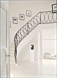 Metropolitan Home Magazine. Photo by Jonn Coolidge. Amazing Staircase.