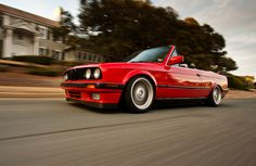 The Iconic BMW E30 Sports Convertible Car - http://www.ruelspot.com/bmw/the-iconic-bmw-e30-sports-convertible-car/ #BMWE30 #BMWE30Convertible