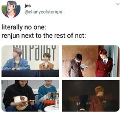 Don't be fooled by his small stature - NCT - Info Korea Johnny Seo, All Meme, Nct Life, Huang Renjun, Funny Kpop Memes, Drama, Meme Faces, Winwin, Fandoms