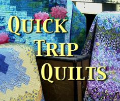 Quick Trip Quilts Video - Quilt in a day by Eleanor Burns