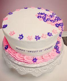 Sweet 16th Birthday Cake #DvasCakes