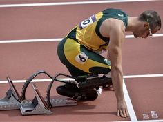 """I can do all things through Christ who strengthens me"" (Philippians 4:13).  Congrats Oscar Pistorius!!!"
