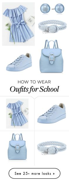 """Back to school 7."" by woofa2006 on Polyvore featuring rag & bone, Honora, Bottega Veneta and Anne Klein"