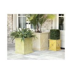 Ballard Designs - Beauclaire Anduze Planter (small green) for the fireplace