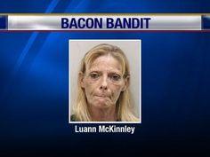 Mug shots:the bacon bandit!