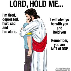 Jesus will hold you clip art - power point background Prayer Quotes, Bible Verses Quotes, Bible Scriptures, Spiritual Quotes, Faith Quotes, Jesus Quotes Images, Biblical Verses, Quotes Quotes, Qoutes