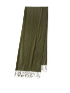 Amicale Women's Pashmina Wrap, Loden, One Size