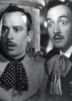 Pedro Infante & Jorge Negrete! When men were Men!!  Love these two :)