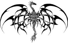 Japanese Dragon Gothic Tattoo Design #134 - http://tattoosaddict.com/japanese-dragon-gothic-tattoo-design-134.html #, #134, #Design, #Dragon, #DragonTattoo, #DragonTattoos, #Gothic, #Japanese, #Tattoo