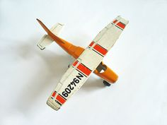 Vintage toy plane  Matchbox 1970s by RetroDelia on Etsy