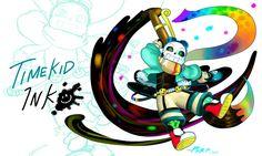 QUANTUMVERSE(Quantumtale INK-Special): TimeKid Ink by perfectshadow06.deviantart.com on @DeviantArt