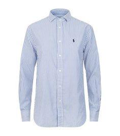 POLO RALPH LAUREN Striped Oxford Shirt. #poloralphlauren #cloth #