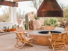 My Favorite Airbnb: A Dreamy Desert Retreat Near Arizona's Saguaro National Park — Condé Nast Traveler Spanish Colonial, Spanish Style, Colonial Art, Spanish Revival, Sonora Desert, Sedona Arizona, Arizona Trip, Budget Patio, Framed Tv