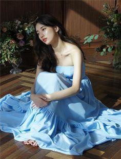 Suzy for Didier Dubot's 'L' air de Paris' Collection Miss A Suzy, Bae Suzy, Korean Model, Korean Actresses, Beautiful Asian Girls, Ulzzang Girl, Kpop Girls, Asian Woman, Korean Girl