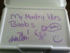 Monkey boobs