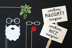 @cmolino - you should do this for your Christmas Eve party!!! More props for the photo booth, but perhaps the mistletoe is not so appropriate for the youth group party...