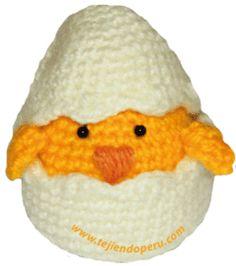 tutorial: pollitos que se esconden y salen del cascarón!