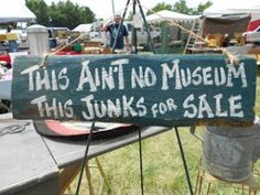 the 126 yard sale road trip + an amazing vintage sign