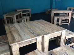 Pallets Made Classroom Furniture – Pallets Ideas, Designs, DIY. (shared via SlingPic)