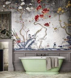 Bathroom with bold s