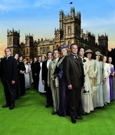 Downton Abbey. Amazing! Can't wait to get my hands on season 2