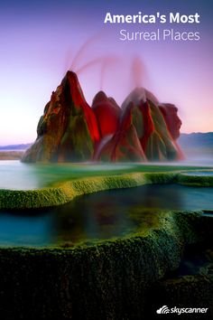 Take a look at this list of the most surreal places found right here in America!